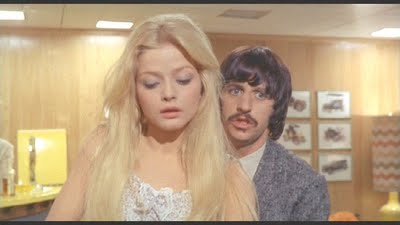 "Ewa Aulin and Richard Starkey in a scene from ""Candy"""