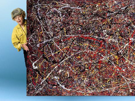 Grandma Teri Horton buys an authentic Jackson Pollock for $5 at a garage sale, but New York's elitist art snobs aren't about to let her buy her way into their rarefied environment