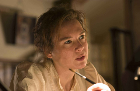 "Renée Zellweger as Peter Rabbit's creatrix in ""Miss Potter"""