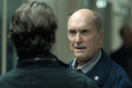 "Robert Duvall tells it straight up to wayward son Joaquin Phoenix in ""We Own the Night"""
